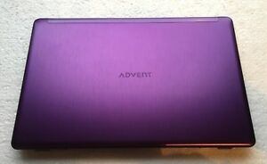 Advent-Tacto-Purple-LCD-Screen-Top-Lid-Hinges-LCD-Display-Cable-Webcam