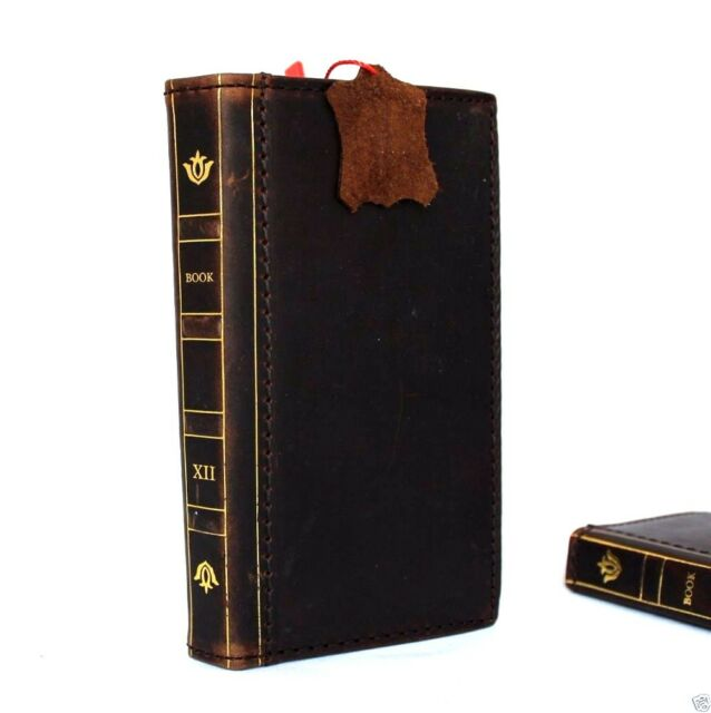 genuine leather Case for Samsung Galaxy Note 4 book wallet handmade cover luxury