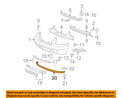 GMC GM OEM 07-14 Yukon XL 1500 Front Bumper-Spoiler Lip Chin Splitter 15138233