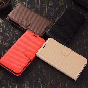 Stylish-Leather-Wallet-Pouch-Book-Card-Slot-Stand-Case-Cover-For-Mobile-Phone