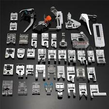 42PCS Domestic Sewing Machine Foot Presser Feet Set For Brother Singer Janome
