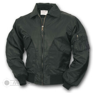 16b4e8655 Details about US MILITARY STYLE MA-2 FLIGHT BOMBER JACKET BLACK PUNK  SKINHEAD MOD
