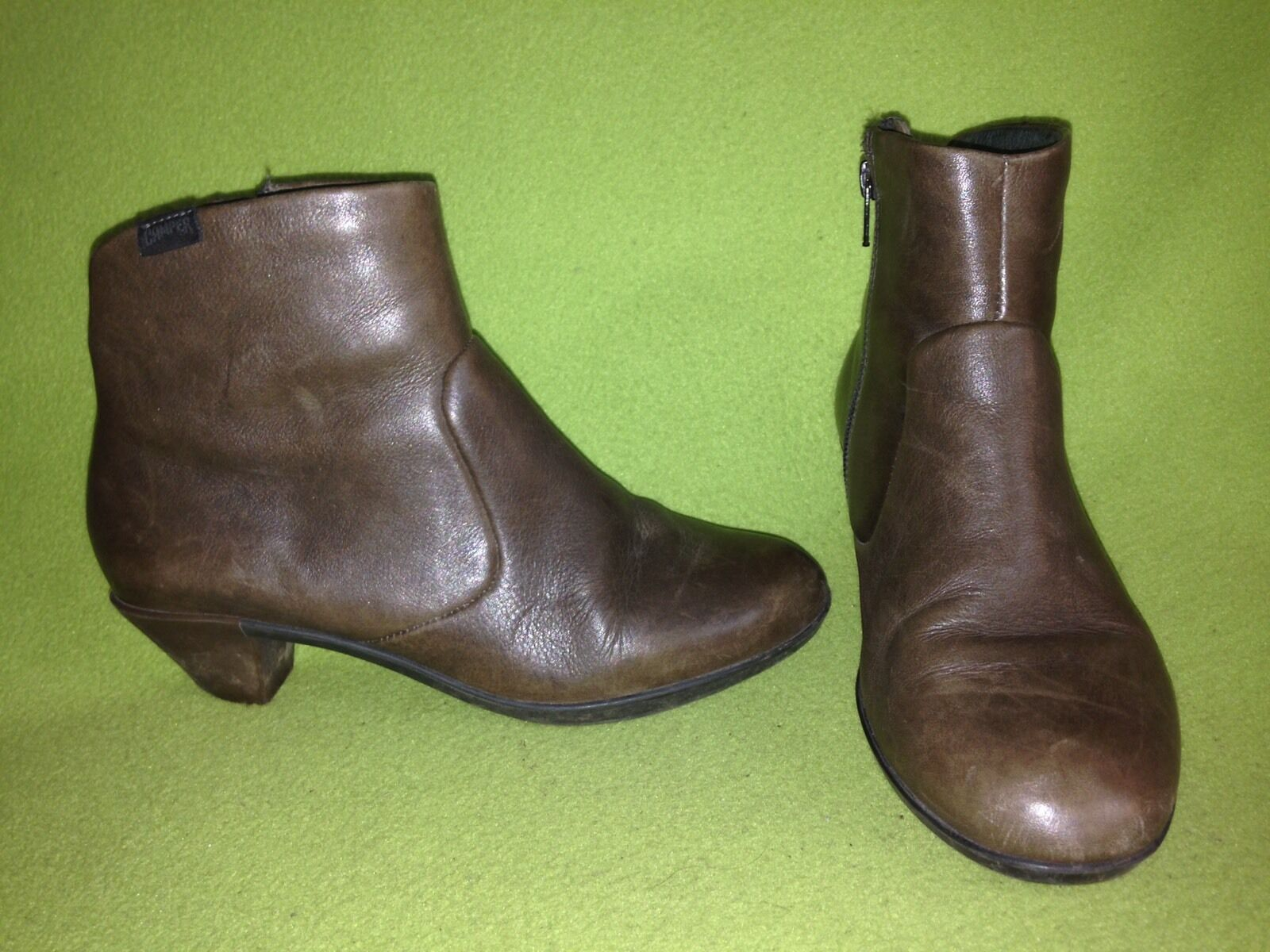 Brown Camper Ankle Boots 6.5 37