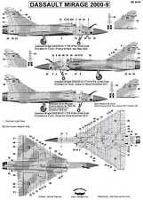 Berna Decals 1/48 DASSAULT MIRAGE 2000-9 French Fighter