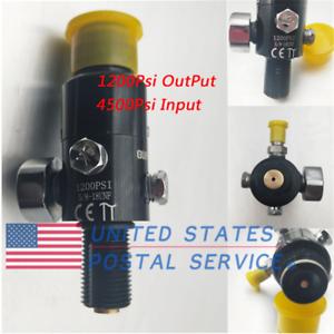 5-8-039-039-18UNF-Thread-Output-1200psi-Paintball-Valve-Regulator-4500psi-HPA-Air-Tank