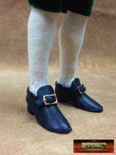 M00639-GunMetal MOREZMORE 2 Metal 1:6 Scale Mini Doll 4.5mm Belt Shoe Buckles