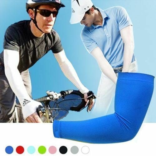 1pair-Mens-Cooling-Athletic-Sport-Skins-Arm-Sleeves-Sun-Protective-UV-Cover-Golf