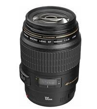 Canon EF Macro 100 mm f/2.8 USM MACRO Lens Fedex Free to USA