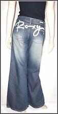 Roxy Brand New Women's Wide Leg Flare Jeans size UK 8 L32   EUR 36