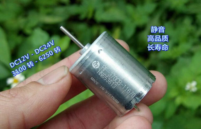 For MABUCHI FF-170PA DC5V 13000RPM High Speed Mute DC Motor for Toy Accessories