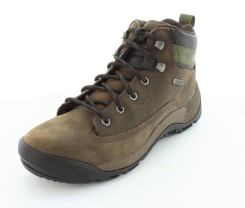 Men's Caterpillar Work WaterProof Boots Southwark Brown Bitteroot Nubuck P717909