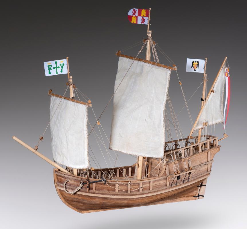 Dusek Pinta 1 72 skala D011 modellllerlerl båt Kit