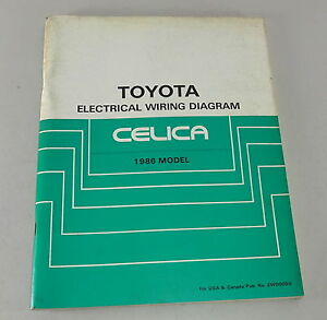 Surprising Workshop Manual Toyota Celica Electrical Wiring Diagram Stand 1986 Wiring 101 Louspimsautoservicenl