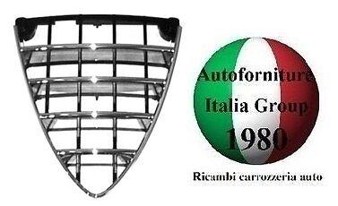 GRIGLIA MASCHERA SCUDO CROMATO PARAURTI ANTERIORE CENTR ALFA ROMEO 159 05/> 2005/>
