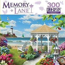 MASTERPIECES JIGSAW PUZZLE MEMORY LANE OCEANSIDE VIEW ALAN GIANA 300 PCS #31653
