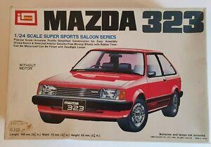 VINTAGE IMAI MAZDA 323 1/24 SUPER SPORTS SALOON SERIES MODEL KIT B-1140