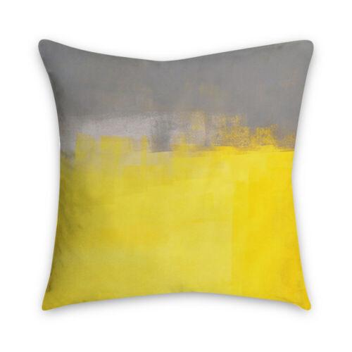 Yellow Geometric Square Cushion Cover Throw Pillow Case Home Sofa Decor 5201