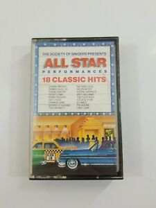 Society of Singers Presents All Star Performances 18 Classic Hits Cassette