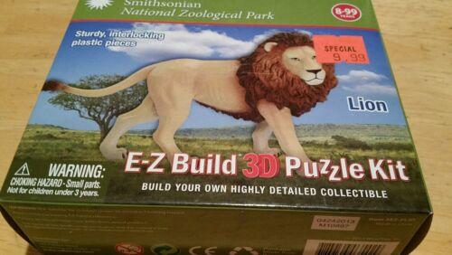 E Z build 3D puzzle kit Lion