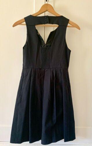 Details about  /Anthropologie Dress 4 MOULINETTE SOEURS Embroidered PERENNIAL Floral Pockets EUC