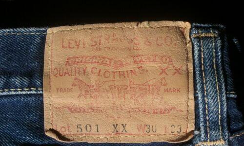 1956 Big E Levi's 501 XX Jeans