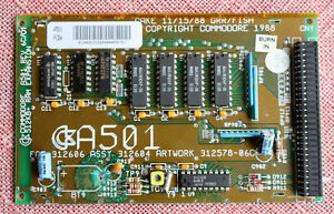 Commodore A501 REV. 6C/01, Speicher Erweiterung, AMIGA 500/A500+ ...#03 2021