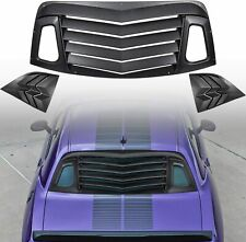 Willpak Industries 2009 ABS Van Rear Window Louver for Dodge