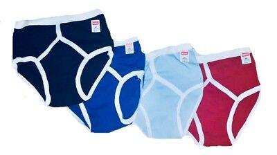 Mens 1 3 6 12 PACK Classic Plain Cotton Y-Fronts Briefs Underpants lot Underwear