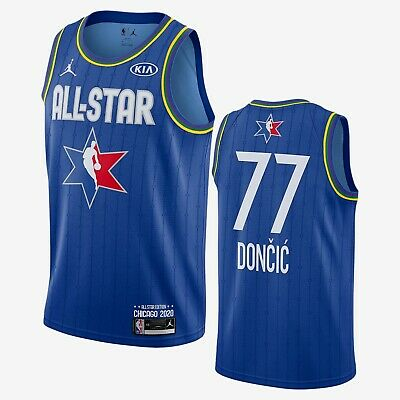 100 Authentic Luka Doncic Nike 2020 All Star Game Swingman Jersey Size 52 Xl Ebay