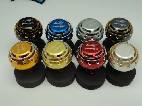 UJ PRK 45 type II knob FITS Shimano Stella Twinpower SW 5000 ~ 20000 reel BLK//GD