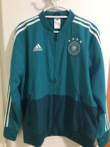 Details about Adidas Germany DFB training Pre Match Soccer Football Jacket L Large CE6588