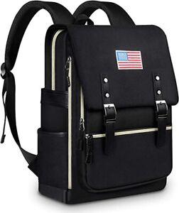 Water Resistant Laptop Backpack & Travel Bag with USB Charging Port For Men