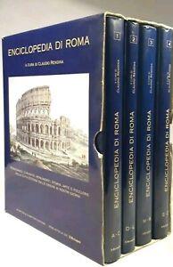 Enciclopedia-di-Roma-C-Rendina-Libri-Guida-Turistica-Illustrata-di-Roma