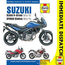 [5643] Suzuki DL650 V-Storm SFV650 Gladius 2004-13 Haynes Workshop Manual