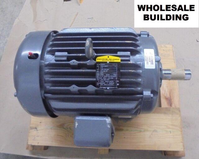 8bd68e53b153 M2401T 7 1 2 HP 870 RPM Baldor Electric Motor for sale online