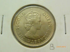 B: Malaya QEII 10 Cents coin 1961H - UNC