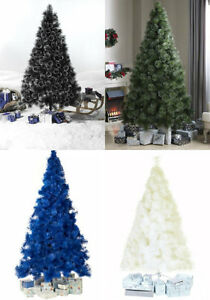 8ft Black Christmas Tree