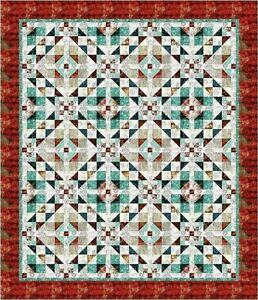 Details About New Pieced Quilt Pattern Ebb And Flow Directions For 2 Sizes