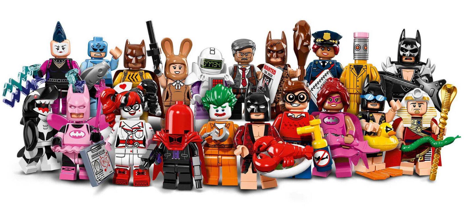LEGO® (71017) The LEGO® Batman™ Movie Minifiguren komplette Serie (20 Stk.)