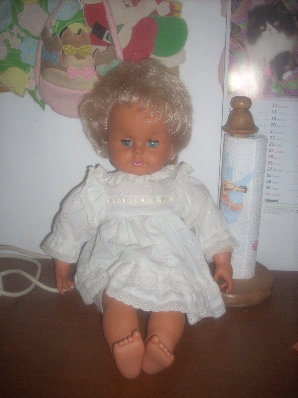 Bambola sebino cicciobello con con con vestito in pizzo sangtuttio  h.cm 46  leggi 0bee5c