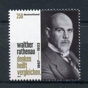 Allemagne-2017-neuf-sans-charniere-Walther-Rathenau-Republique-de-Weimar-1-V-Set-Hommes-politiques