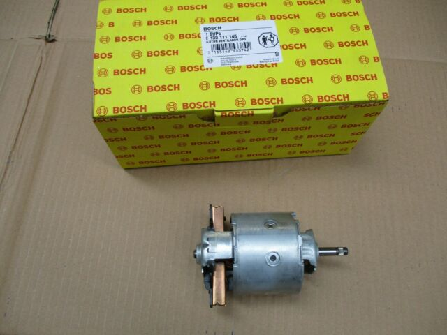 NEW GENUINE BOSCH 0130111145 BLOWER MOTOR PORSCHE 911 964 993