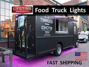 Food Truck Trailer Led Lighting Kit Super Bright Plans Accent