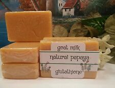 Goats Milk, Papaya and Glutathione Skin  Soap Lightening Anti Aging