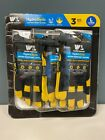 3PK WELLS LAMONT HydraHyde Water Resistant Breathable Leather Work Gloves Large