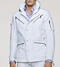 $1295 Men's Ralph Lauren Black Purple Label White Flight Escape Cargo Jacket 2XL