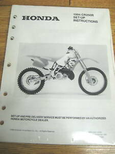 details about 94 honda cr250r set up instructions wiring diagram  cr250r wiring diagram #15