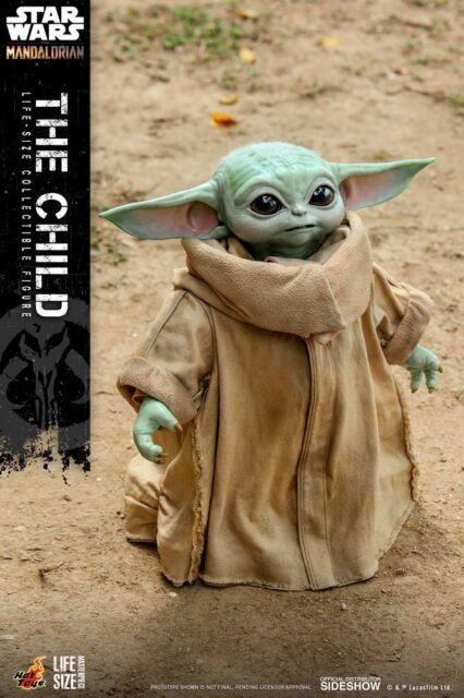 Hot Toys The Child Grogu Life Size Figure Star Wars The Mandalorian US Seller
