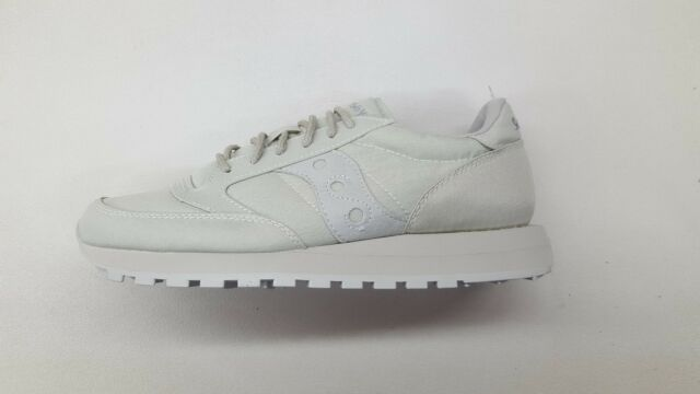 new product 4e546 1c51a SAUCONY JAZZ ORIGINAL MONOTONE LIGHT GREY MENS SIZE RUNNING SNEAKERS  S70294-4