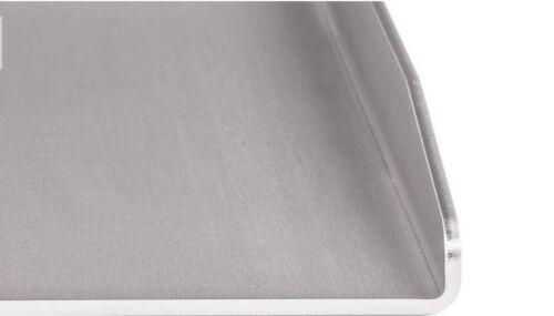 BBQ-RuSchi universal Grillplatte aus Edelstahl BBQ Grillaufsatz Plancha 15x20cm